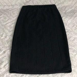 Lulus black pencil skirt XS